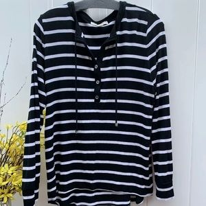 Michael Kors size large striped top